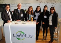 The team of the Chilean company Liventus, controlled and modified atmosphere technologies.
