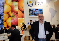 Diego Castagnasso from Azul Sereno, Blueberry producer and exporter from Uruguay