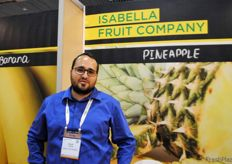 David Quesada Alvarado, de Isabella Fruit Company, Costa Rica.